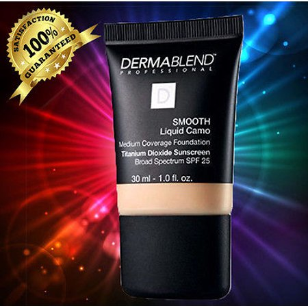 - Dermablend Smooth Liquid Camo Foundation - BISQUE NEW IN BOX 30ML_1 OZ.-03