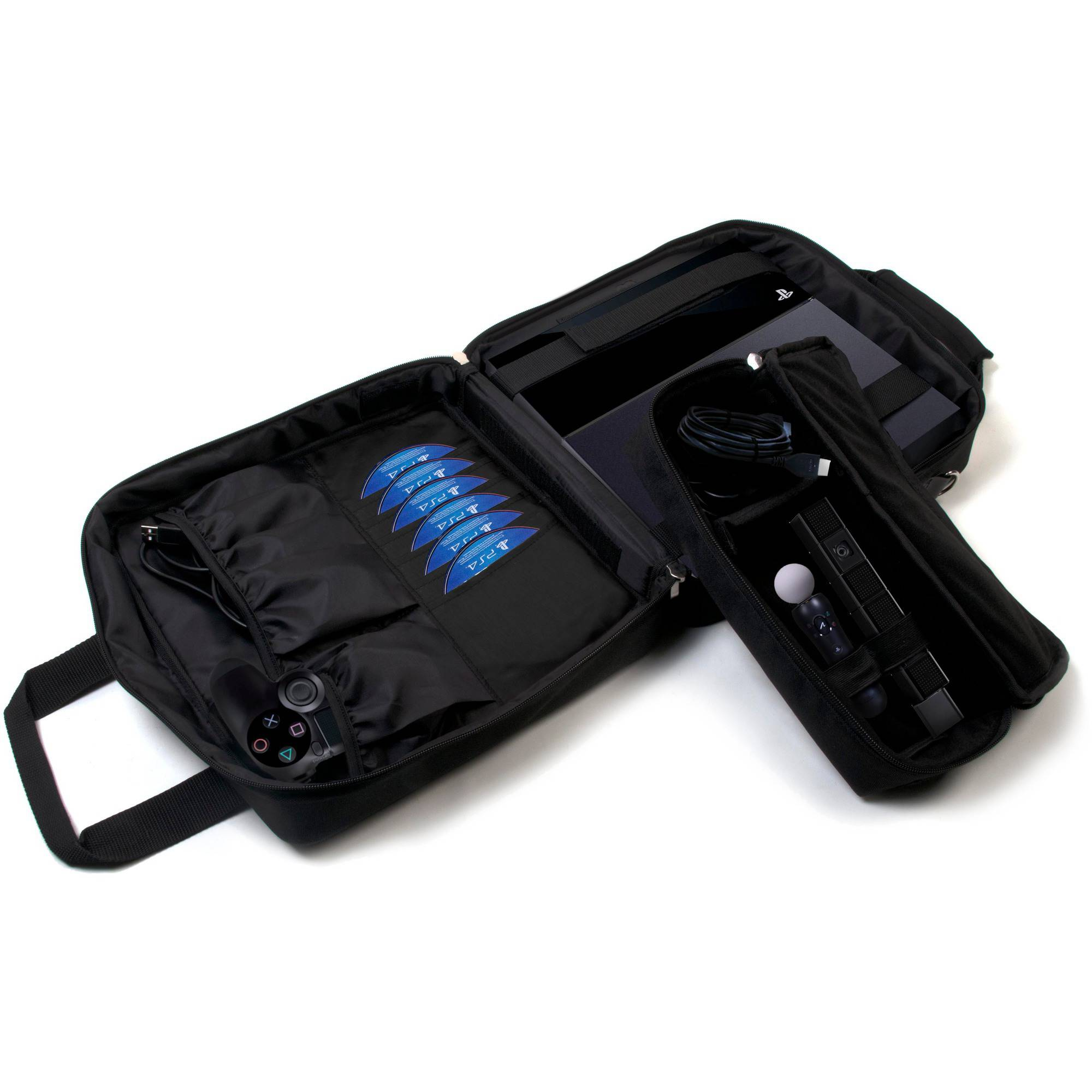 CTA Digital Ps4-mfc Multi-Function Carry Case for PlayStation 4 and PlayStation 3