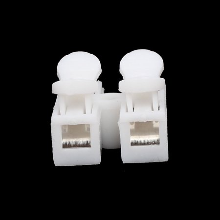CH-2 250V 10A 2 Position Spring Clamp Terminal Blocks Quick Connectors 30pcs - image 3 of 4
