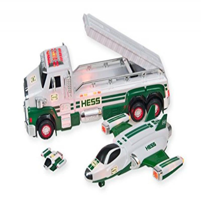 HESS 2014 50th Anniversary Toy Truck And Space Cruiser With Scout by