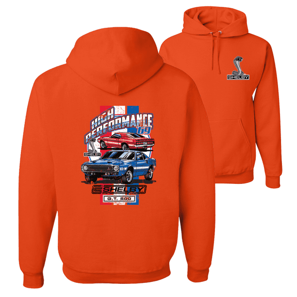 Shelby Signature Logo Hooded Sweatshirt in 2XL LAST ONES Get Free USA Shipping!