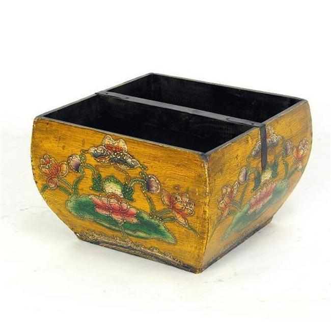 Wayborn Furniture 5925Y Handpainted Bucket - image 1 of 1