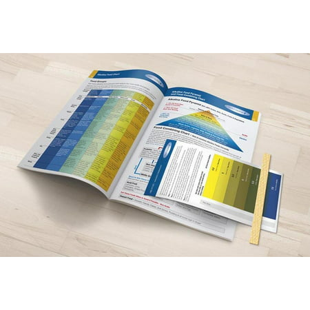 - Alkaline Body Balance Informational 12-Page Booklet with Food Chart and FREE pH Test Strip