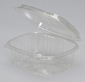 Genpak 32 Oz Hinged Clear Deli Container 200/Case