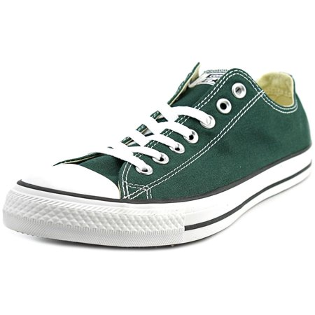 856fd5b9c888 Converse Chuck Taylor Ox Men Round Toe Canvas Green Sneakers ...