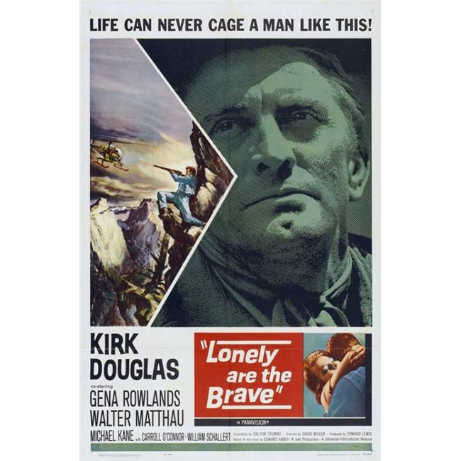 Pop Culture Graphics MOVEI3741 Lonely Are The Brave Movie Poster Print, 27 x 40 - image 1 of 1