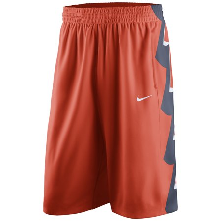 Illinois Fighting Illini Nike On Court Basketball Shorts - Orange