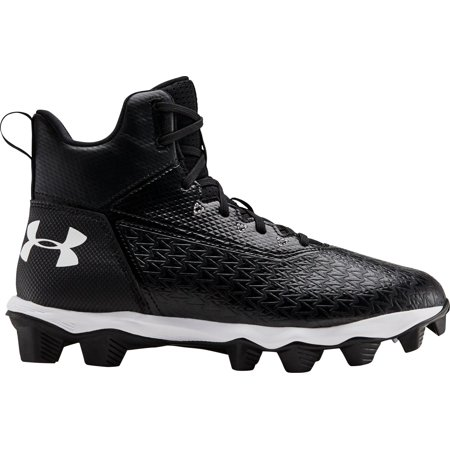 Under Armour Kids' Hammer Mid RM Football Cleats Strap Mid Football Cleat
