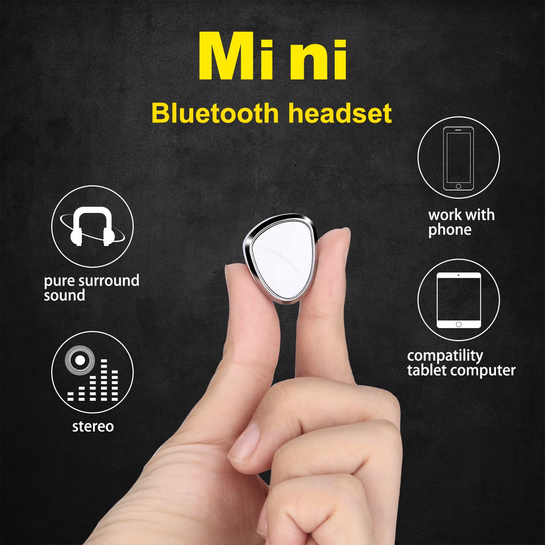 AGPtek Mini Bluetooth 4.1 Stereo Headset In-Ear Wireless Earphone Earbud Headphone