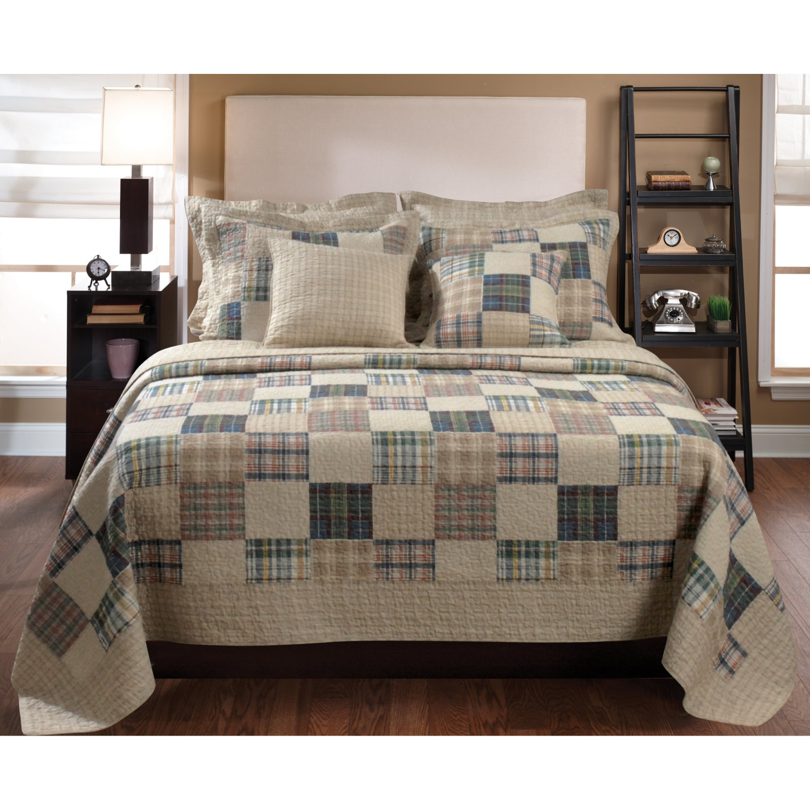 Greenland Home Fashions Oxford Quilt Set by Greenland Home Fashions