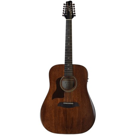 Solid Top 12 String Dreadnought (Sawtooth Mahogany Series Left-Handed 12-String Solid Mahogany Top Acoustic-Electric Dreadnought)