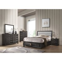 ACME Soteris 8 Drawers Wooden Dresser in Antique Gray