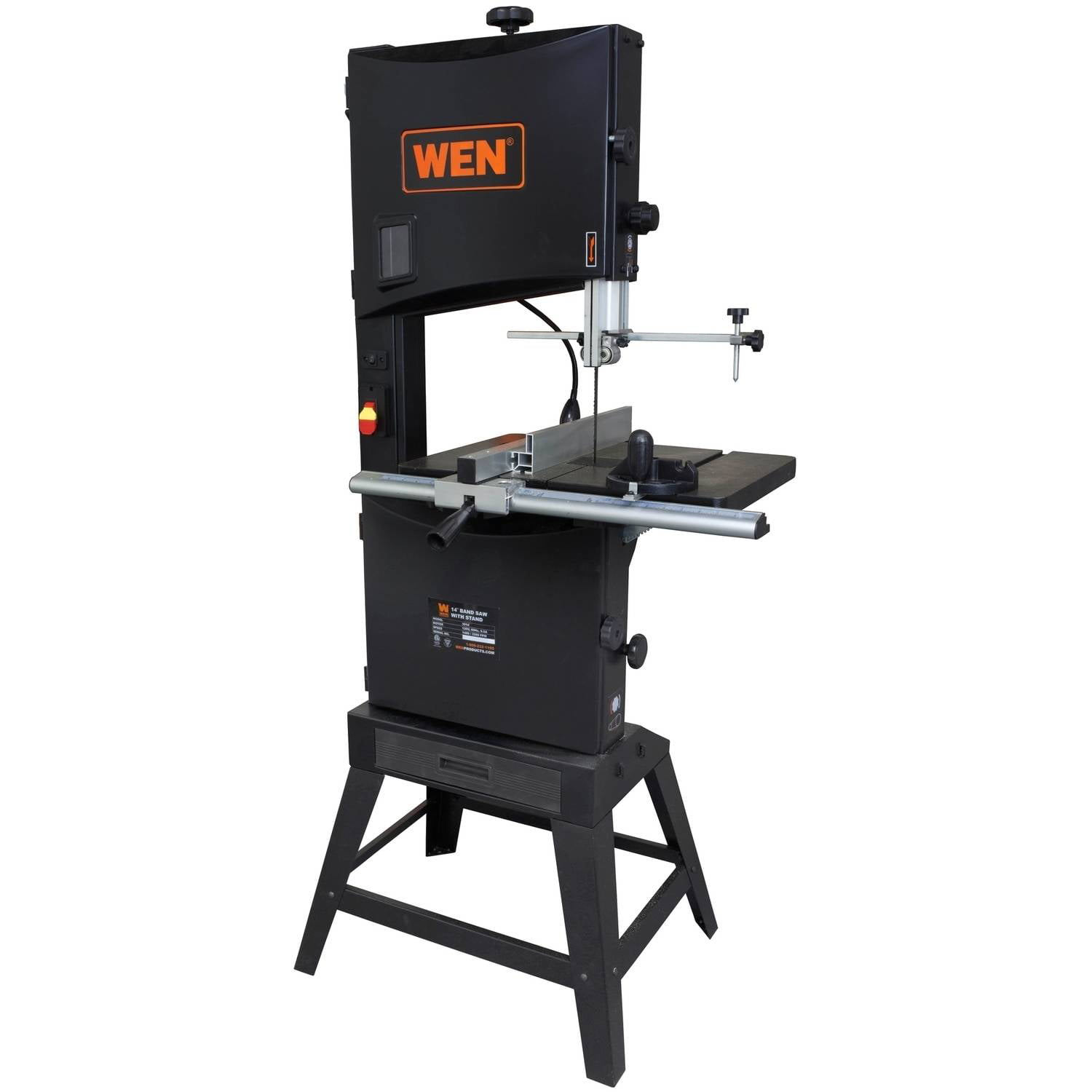 "WEN 14"" Two-Speed Band Saw with Stand and Worklight by WEN"