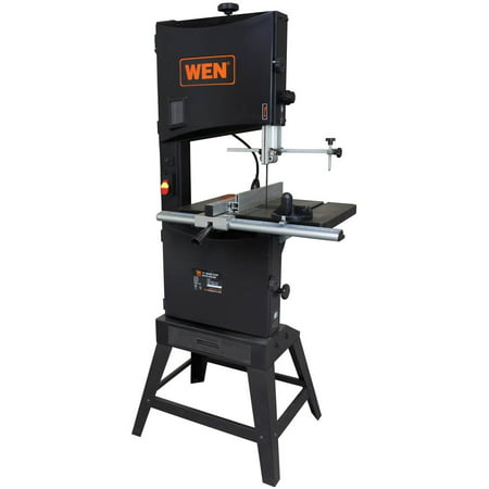 WEN 14-Inch Two-Speed Band Saw With Stand And Worklight, 3966 320 14' Band Saw