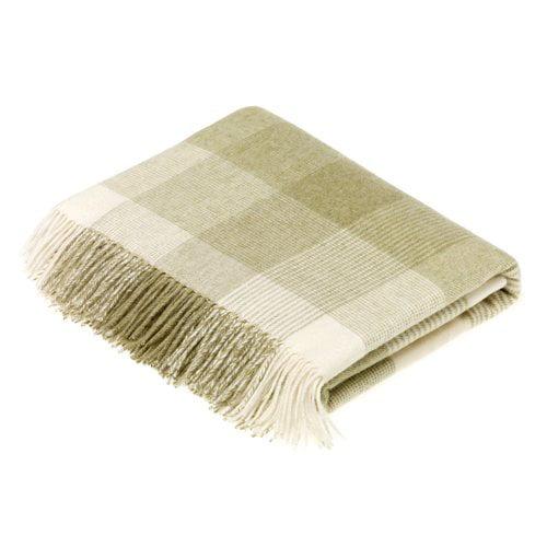 Gracie Oaks Bruning Merino Wool Throw