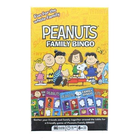 Peanuts Family Bingo Game - image 1 of 1