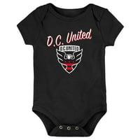 D.C. United Newborn & Infant My New First Bodysuit - Black