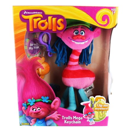 Zuru - Trolls Mega Key Chain (Cooper)   , By Zuru Ship from US