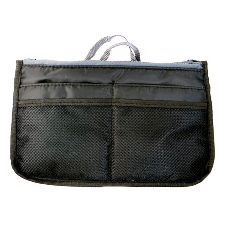 Gift Gallery Multi Pocket Purse Organizer-Black
