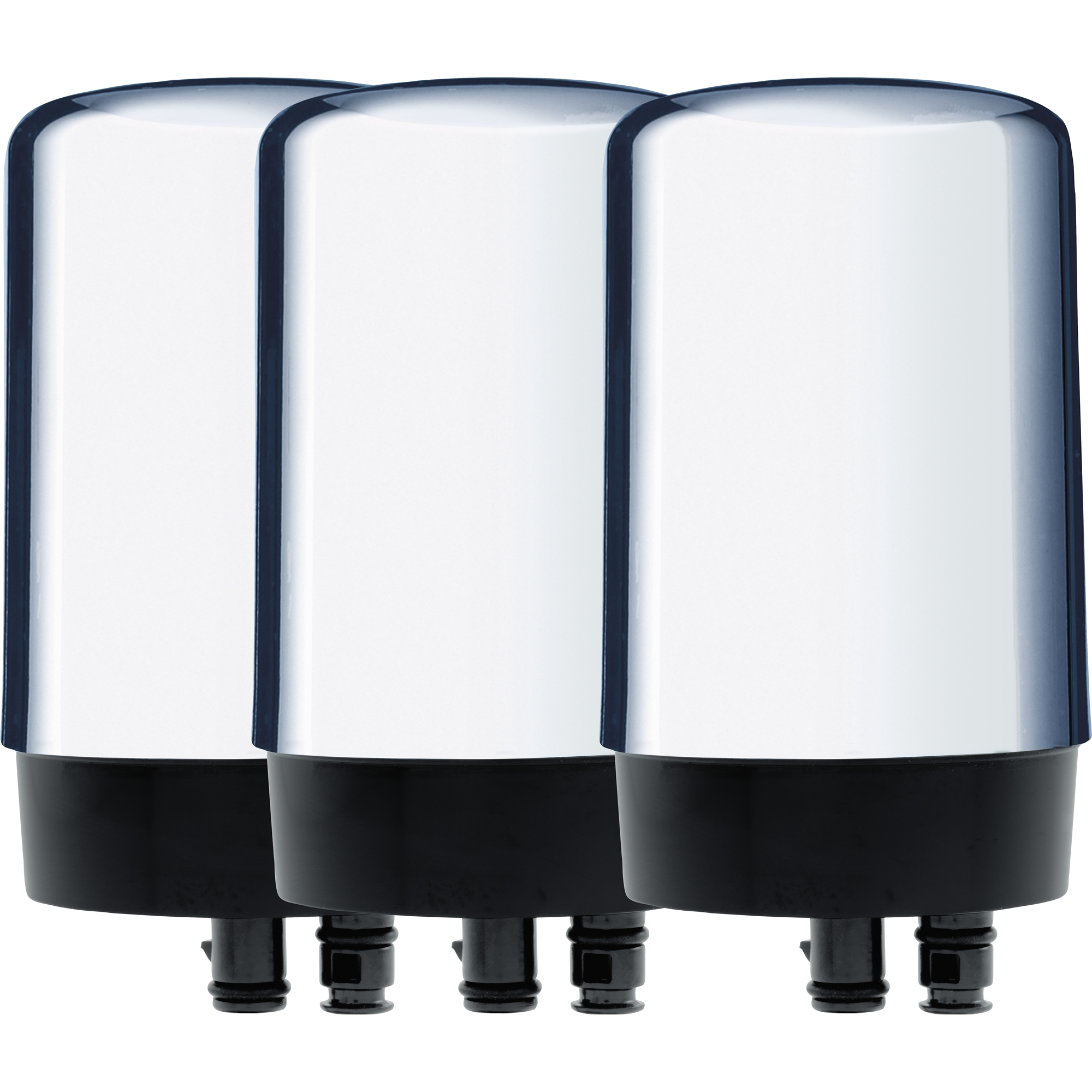 Brita On Tap Water Filtration System Replacement Filters For Faucets - Chrome - 3 Count