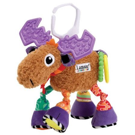 Lamaze Play & Grow Mortimer The Moose Mobile, Baby Car Seat Toy