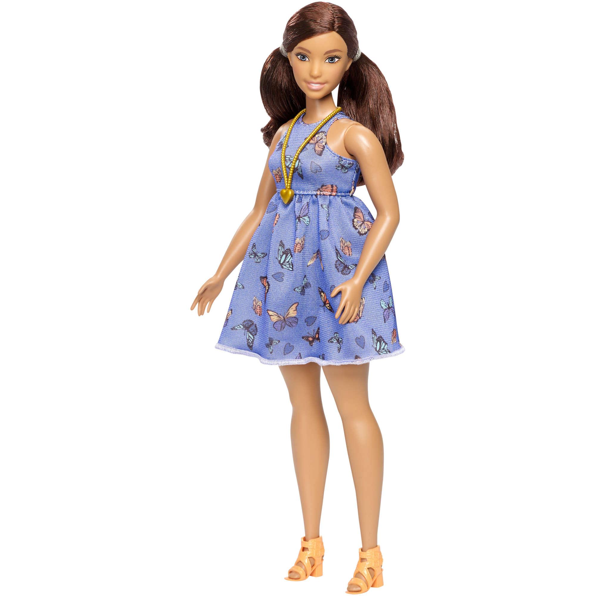 Barbie Fashionistas Curvy Doll 66 Beautiful Butterflies