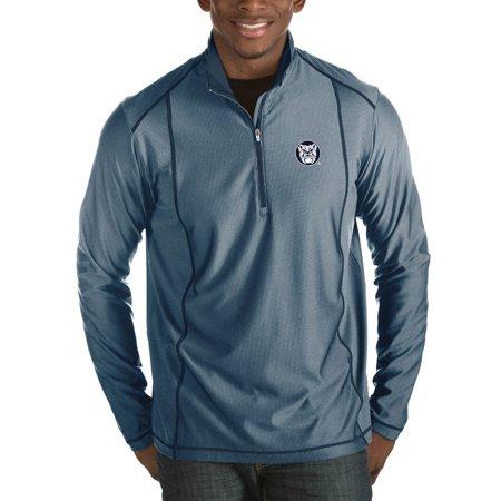 Bustier Jacket (Butler Bulldogs Antigua Tempo Half-Zip Pullover Big & Tall Jacket - Navy)