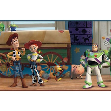 879548 Wide Toy Story Andys Room Wallpaper Border Walmartcom