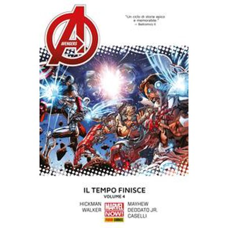 Avengers. Il Tempo Finisce 4 (Marvel Collection) - - Kev Walker
