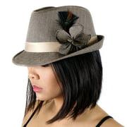 ZUCKER Pheasant-Turkey-Hackle Feather Hat Trims - Black - Natural