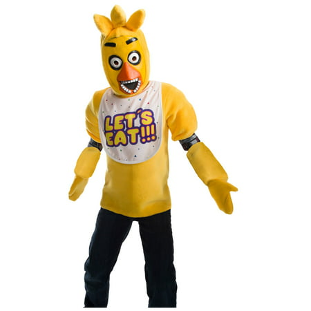Five Nights At Freddys Kids Deluxe Chica Costume](Chica Costume)