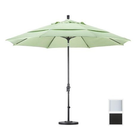 california umbrella gscuf118170 5408 dwv 11 ft fiberglass market umbrella collar tilt double. Black Bedroom Furniture Sets. Home Design Ideas