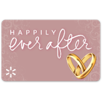 Happily Ever After Walmart Gift Card