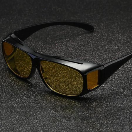 Car Driving Glasses Sunglasses Eyewear UV Protection Night Vision Goggles - image 1 de 9