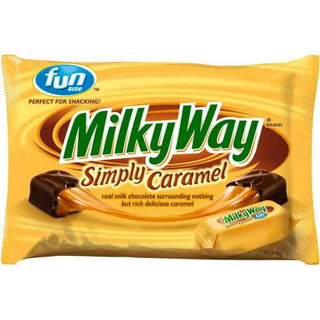 Milkyway Fun Size Simply Caramel  10 73 Oz