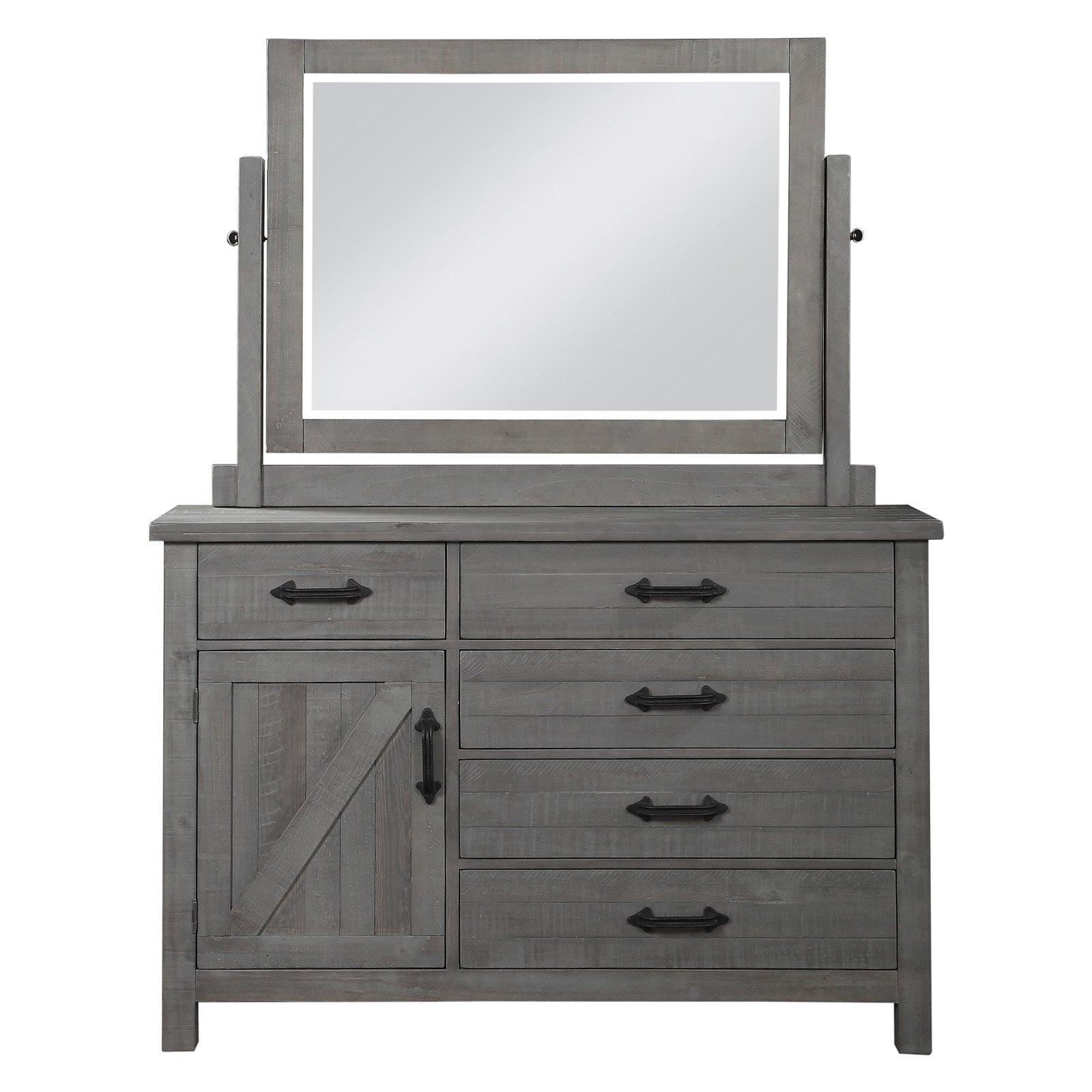 Modus Austin 5-Drawer Dresser with Optional Mirror