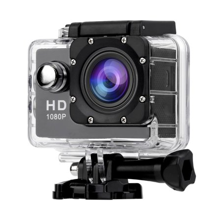 120 Mini Plugs - sport camera, A9 1080P HD Action Camera 2.0 Inch Waterproof Outdoor Camcorder Recorder 120 Degree Wide Angle Mini Underwater Camera US Plug