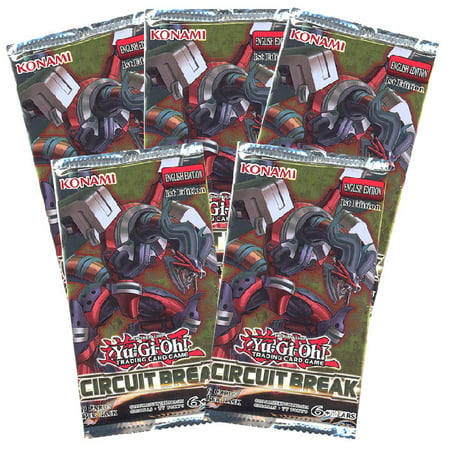 Yu-Gi-Oh Cards - Circuit Break - Booster Packs (5 Pack - Break Cards