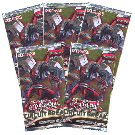 Circuit Card Assembly - Yu-Gi-Oh Cards - Circuit Break - Booster Packs (5 Pack Lot)