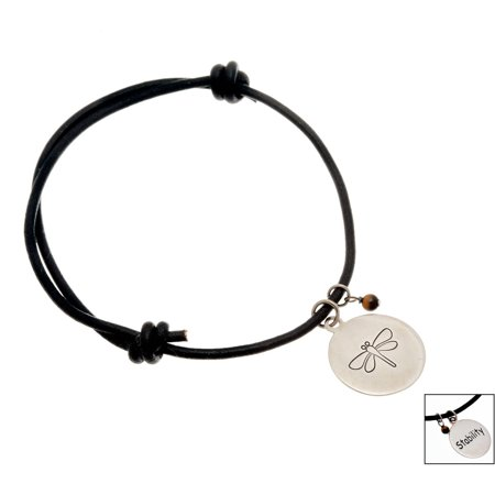 Lesa Michele Dragonfly Charm Bracelet in Sterling Silverin Sterling Silver