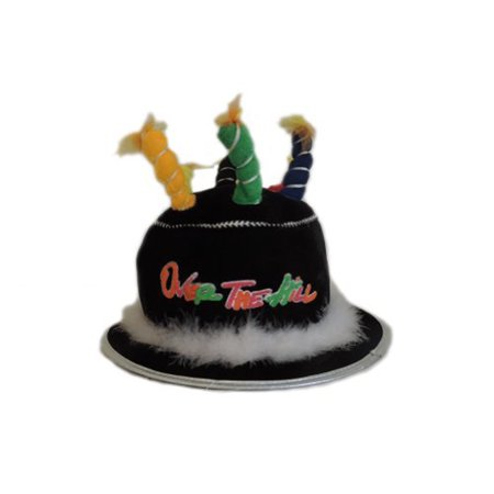 Adult Over The Hill Novelty Birthday Retirement Cake Hat