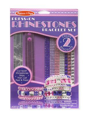 Melissa /& Doug Girls DYO Accessories 4 Items Bundle Bracelets Headbands and Bangles Melissa and Doug Rings