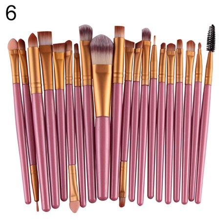 20X Makeup Set Powder Foundation Eyeshadow Eyeliner Lip Cosmetic Beauty Brushes - Zombie Makeup For Women