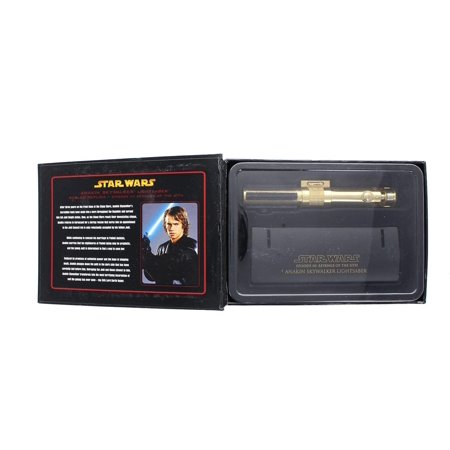 Star Wars Anakin Episode 3 Mini .45 Lightsaber - Gold - Spencer Halloween Episode