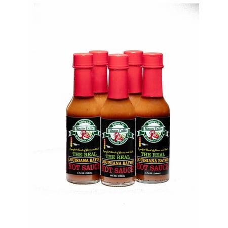 (12 Pack) The Real Louisiana Bayou Hot Sauce