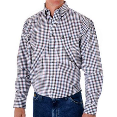 Wrangler Mens Western George Strait Edition Shirt MGS13RM