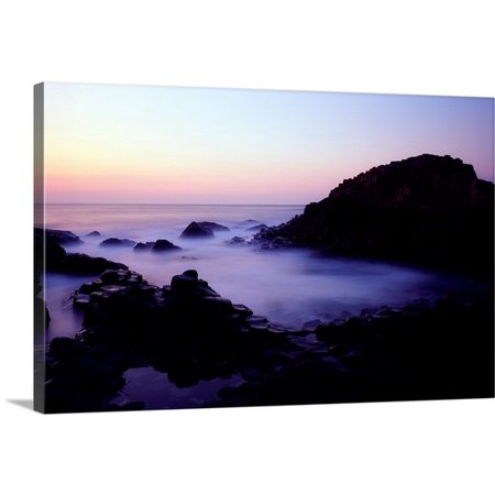 Great Big Canvas The Irish Image Collection Premium Thick Wrap Canvas Entitled The Giants Causeway  County Antrim  Ireland