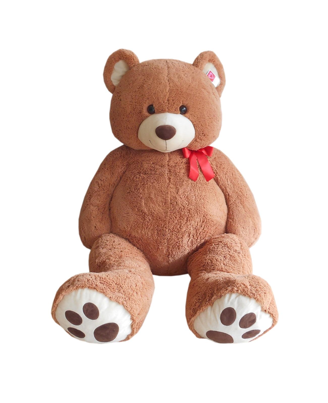 Baby Net For Stuffed Animals, Way To Celebrate Valentine S Day Jumbo Plush Tan Bear Walmart Com Walmart Com