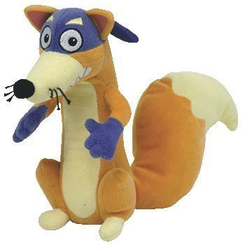 Cp New Ty Beanie Babies SWIPER the Fox (Dora the Explorer) Plush Stuffed Animal Plush