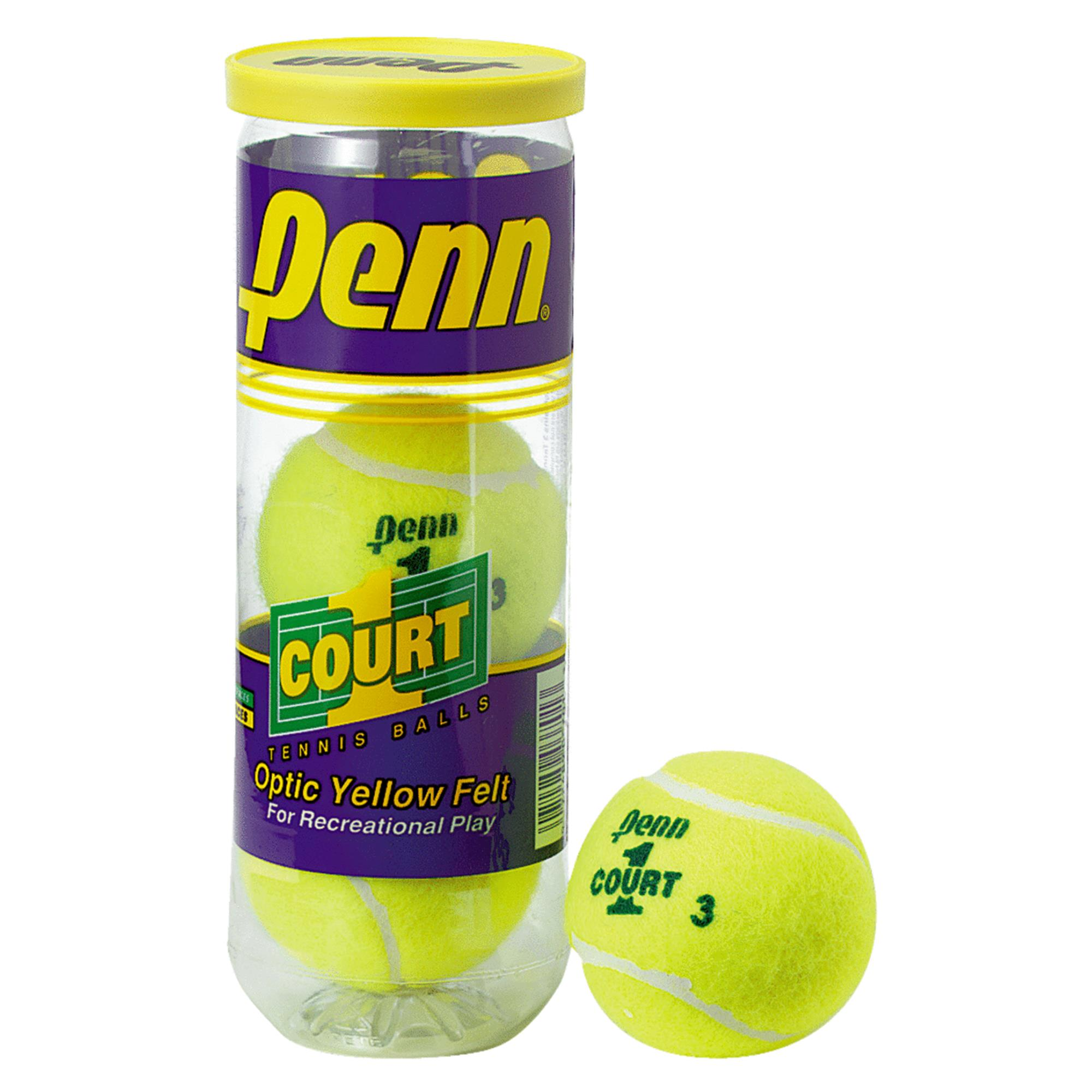 Penn 523701 Court One Tennis Ball (3 Ball Can)